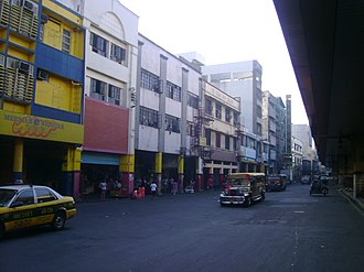 Rizal Avenue - Image: Avenida rizal manila