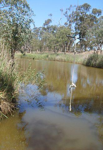 Logan, Victoria - Image: Avoca river Logan