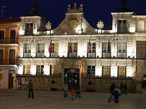 Medina del Campo - Town Hall.