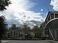Bürgerhaus mit Biergarten und Gewitterwolken im Freiburger Seepark.jpg