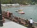 BALNEÁRIO CAMBORIÚ (chegada na Praia de Laranjeiras durante passeio de Barco Pirata), Santa Catarina, Brasil by Nivaldo Cit Filho - panoramio.jpg