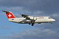 BAe146-300 (RJ-100) 'HB-IYY' Swiss European Airlines (14520965164).jpg