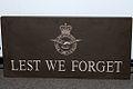 BBMF Sign - Lest We Forget (8643001698).jpg