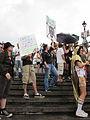 BP Oil Flood Protest NOLA Dont Worry.JPG