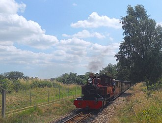 Bure Valley Railway - Image: BVR No 9 Mark Timothy Buxton