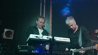 B-Movie (band) - B Movie at Electrowerkz with Keyboards 2015
