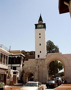 Eastern gate of damascus