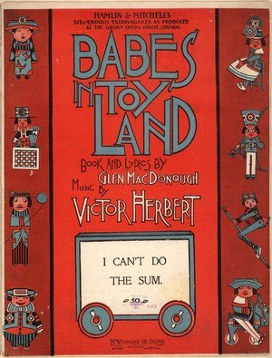 Babes in Toyland (operetta) - Sheet music cover