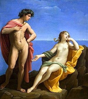 Guido Reni - Bacchus and Ariadne, circa 1619–1620, Los Angeles County Museum of Art