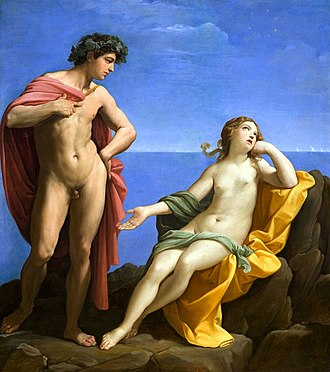 Guido Reni - Bacchus and Ariadne, circa 1619–1620, Los Angeles County Museum of Art