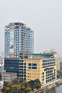 Back view of World Trade Center Chittagong from C&F Tower (04).jpg