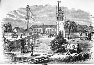 Badagry - Image: Badagry (February 1851, VIII, p.12)