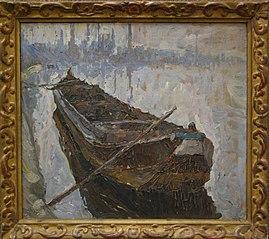 Mud barge