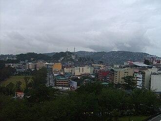 Metro Baguio - Image: Baguio view 1