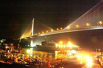 Bãi Cháy Bridge - Image: Baichaybridge