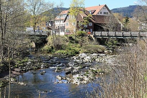 Baiersbronn - Murgtalstraße + Murg+Forbach + Lochweg - Forbachbrücke + Neumühleweg - Murgsteg 02 ies
