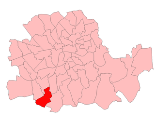 Balham and Tooting (UK Parliament constituency) Parliamentary constituency in the United Kingdom