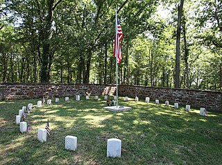 Balls Bluff Battlefield and National Cemetery United States historic place