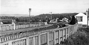 Ballindalloch - Until 1961 there was a station on the Great North of Scotland Railway