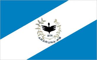 Araruna, Paraíba - Image: Bandeira araruna