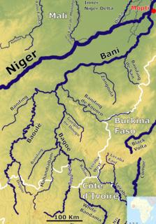 river in Mali