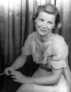 Barbara Bel Geddes - Barbara Bel Geddes as Maggie in Cat on a Hot Tin Roof, photographed by Carl Van Vechten, 1955