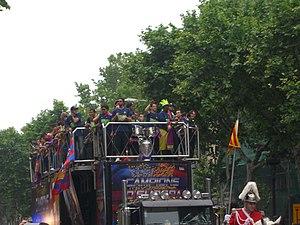Duke e festuar ne rruge ne Barcelonë, 2006