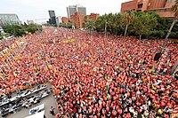 Barcelona- Catalan National Day 2018. Demonstration 27.jpg