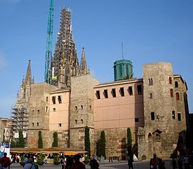 Image illustrative de l'article Muraille romaine de Barcelone
