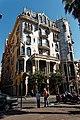 Barcelona - Passeig de Gràcia - View ENE on Casa Fuster 1911 by Josep Puig i Cadafalch.jpg
