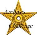 Barnstar of Archives Challenge winner.png
