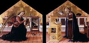 Bartolomeo Caporali - Annunciation