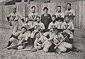 Baseball Team in 1897 detail, Virginia Tech Bugle 1898 (page 142 crop).jpg