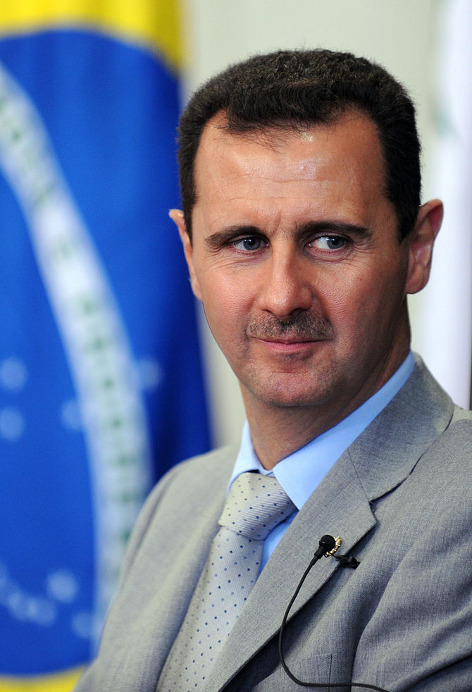 The president of the Syria...