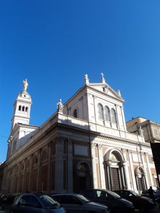 Sacro Cuore di Gesù a Castro Pretorio - Image: Basilica del Sacro Cuore di Gesù 03