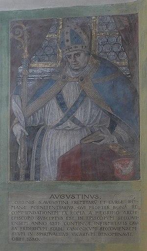Basilika Seckau, Bischofskapelle, Halbfigurenportrait Bischof Augustin Münzmeister von Breisach.jpg