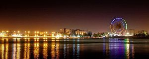Baçorá: Basra at night