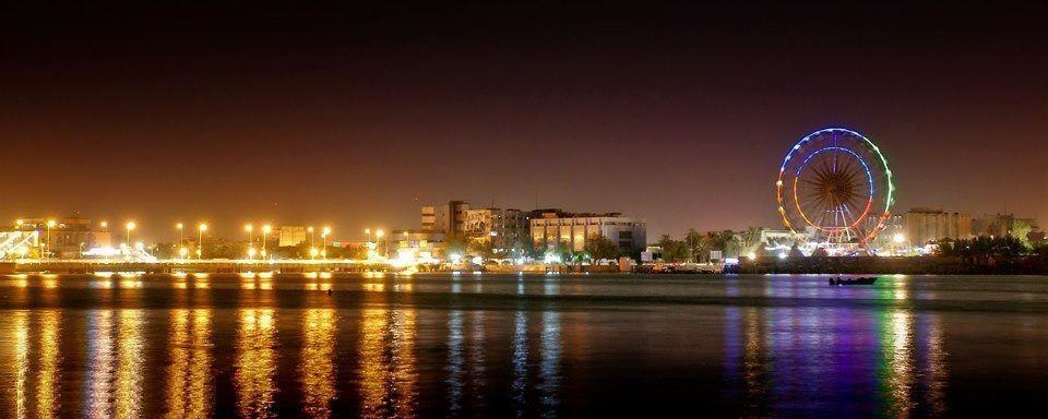 Basra at night