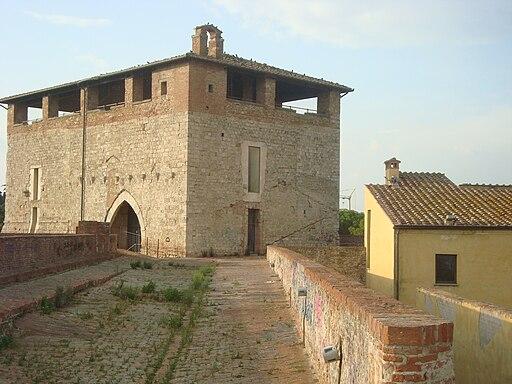 Bastione Fortezza con il Cassero Senese