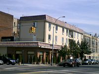 Apparent architectural example of Bensonhurst as a Little Italy