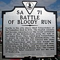 Battle of Bloody Run - Marker, Chimborazo Park, Richmond.jpg