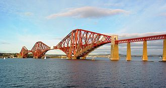 1890 in Scotland - Forth Bridge