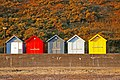 Beach Huts on Seafront, Cromer, Norfolk - geograph.org.uk - 1508508.jpg