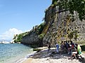 Beach Scene - Palaio Frourio (Old Fortress) - Corfu - Greece - 02 (41357601445).jpg
