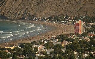 Beach at Rada Tilly, Chubut, Argentina 2008.jpg