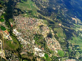 Beaconsfield, Victoria - Aerial photo of Beaconsfield