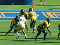 Bears on offense at UCLA at Cal 2010-10-09 39.JPG