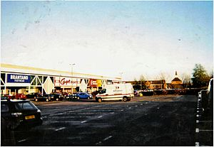 Ruscote - The Lockheed Drive retail estate/Banbury Cross Retail Park in Banbury has been a major employer since the 1980s.
