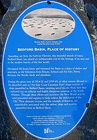 Bedford Basin Plaque
