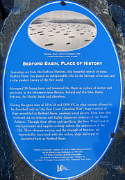 Bedford Basin Plaque